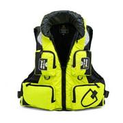 Life Jacket Safety Vest Adjustable Buoyancy for Sailing Kayak Canoeing Fishing
