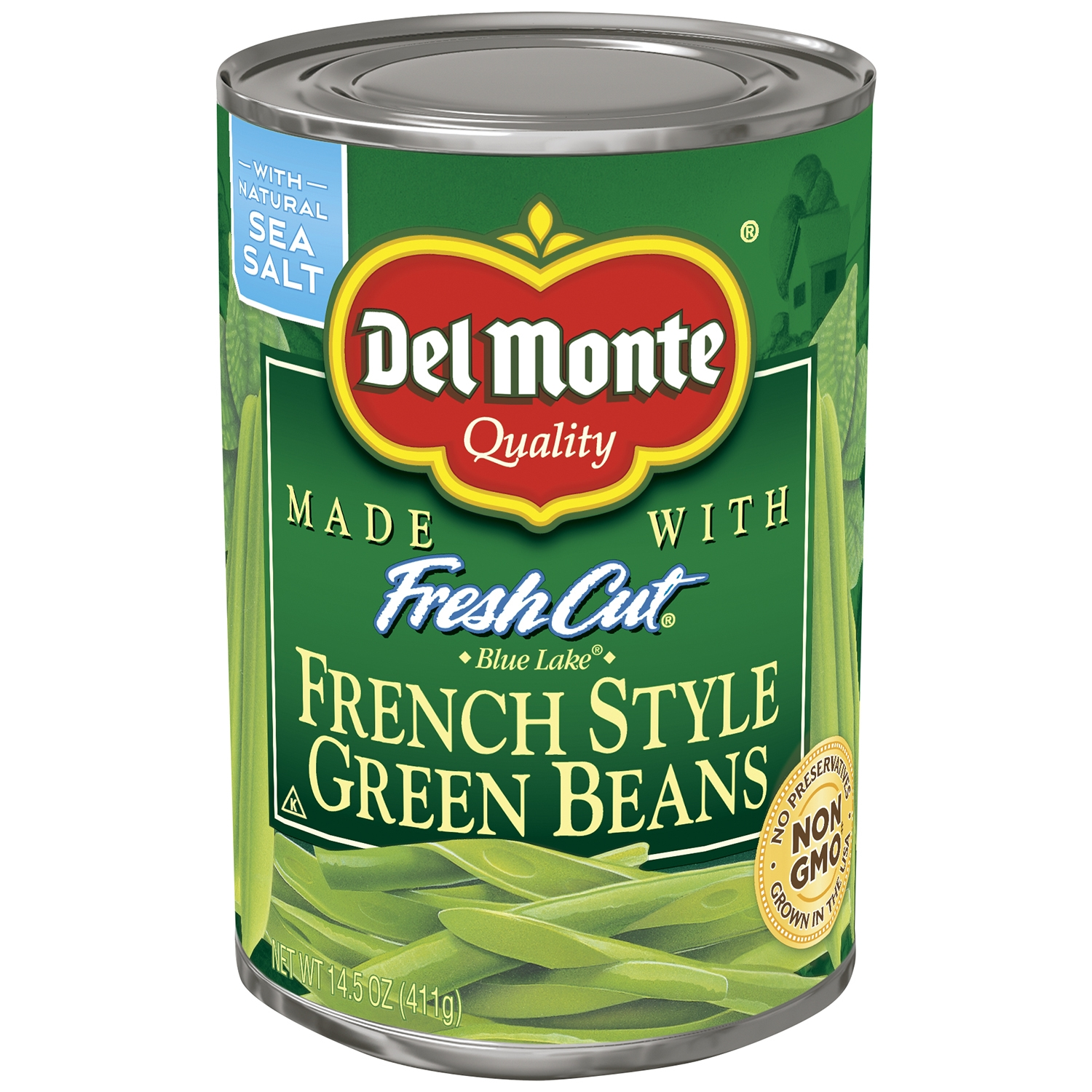 Del Monte Fresh Cut French Style Green Beans, 14.5 OZ