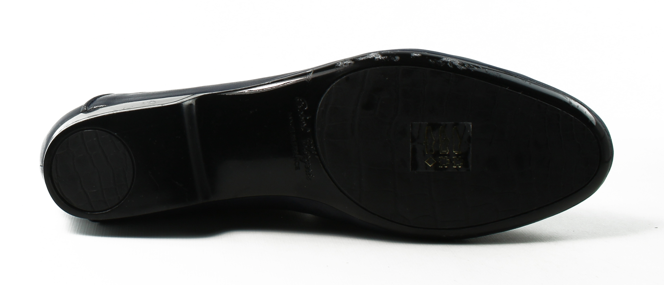 Robert Clergerie Womens  Blue Loafer Flats Size 4.5 New