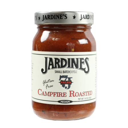 Jardine's Gluten Free Campfire Roasted Salsa, 16oz, Medium Heat
