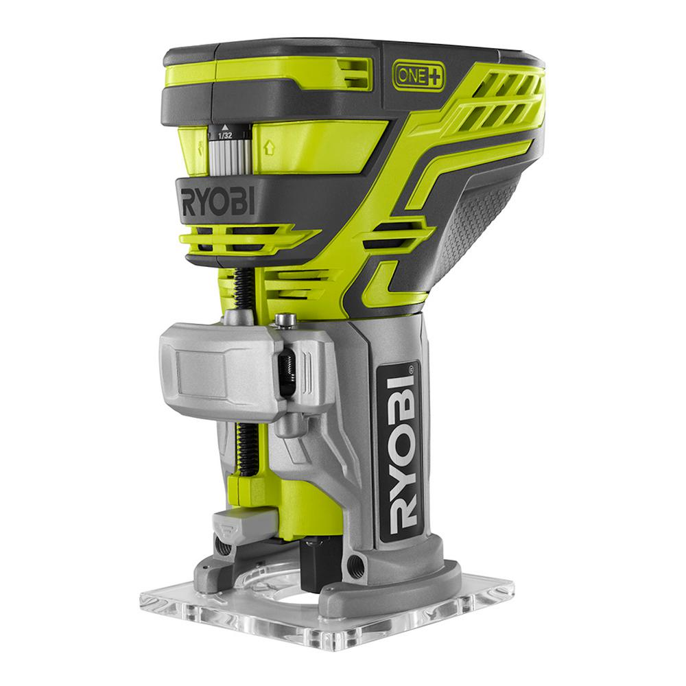 Ryobi ONE+ Cordless Trim Router 29000 RPM Woodworking Bare Tool P601 by