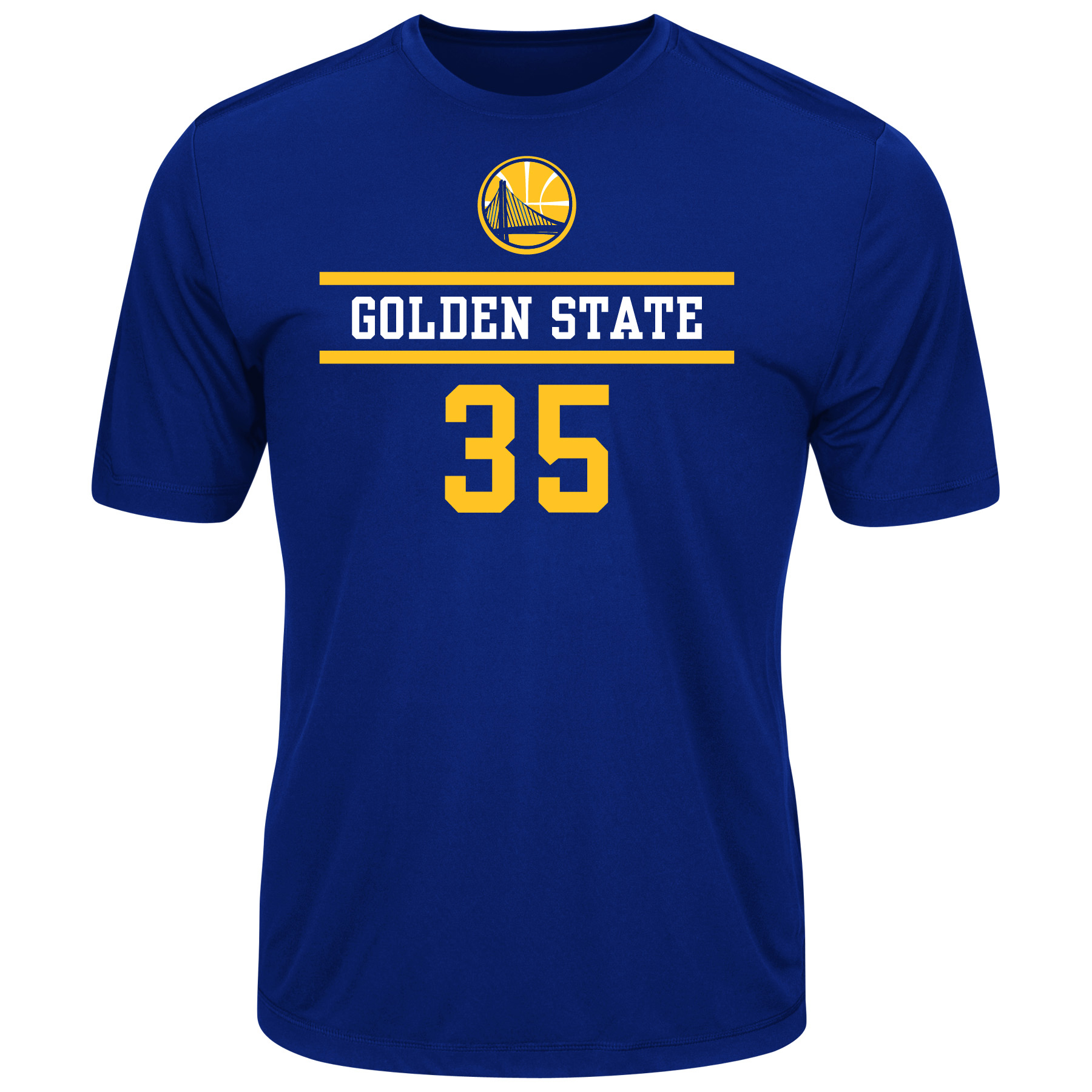 NBA Golden State Warriors Total Dedication Men's Tee - Kevin Durant #35