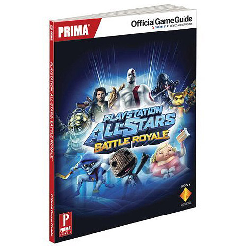 Playstation All Stars Battle Royale Official Strategy Guide  (Paperback)