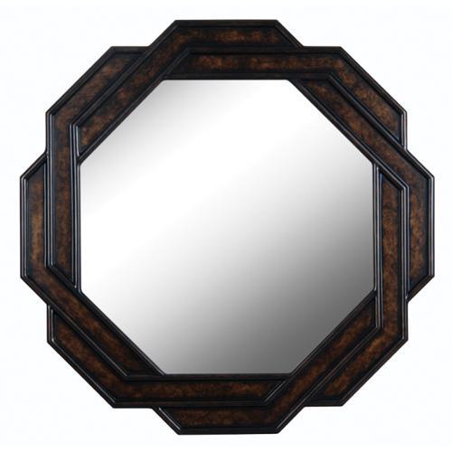 Design Craft Weaver 34-inch Bronzetone Wall Mirror