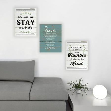 The Stupell Home Decor Collection Humble And Kind Rosemary Sprig Typography Oversized Stretched Canvas Wall Art, 24 x 1.5 x (Rosemary Walls Art)