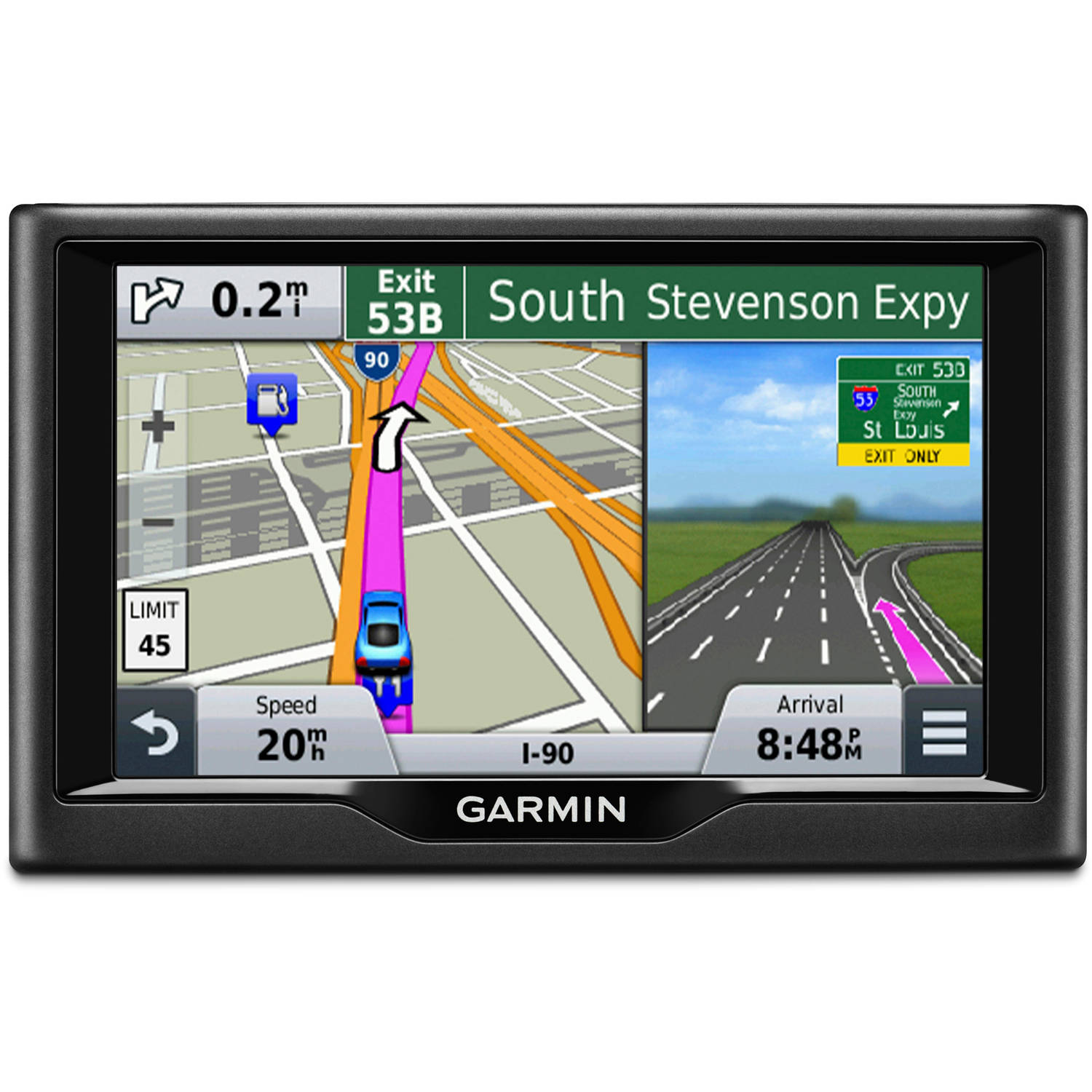 "Garmin nuvi 58 5"" GPS Unit with Maps of the U.S. and Canada"