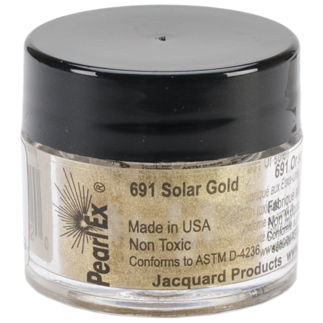 Jacquard Pearl Ex Powdered Pigment 3g-Solar Gold