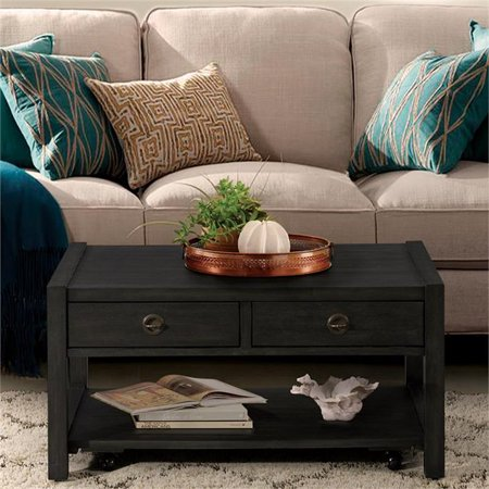Coffee Table 36 X 24.Riverside Furniture Perspectives 36 X 24 Storage Coffee Table