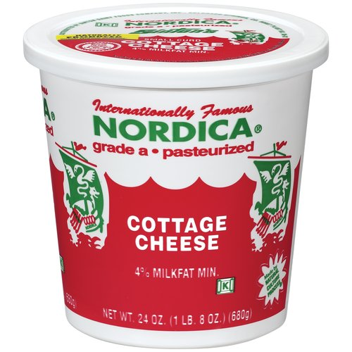 Nordica Cottage Cheese, 24 oz