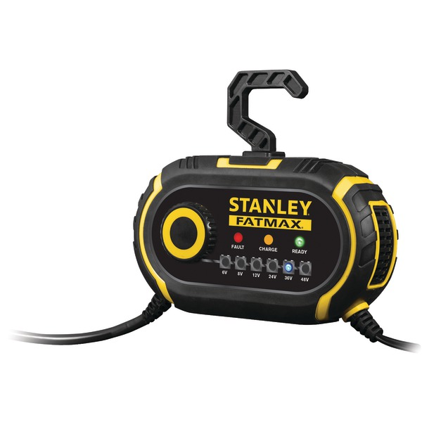 Stanley GBCPRO2 6-Volt-48-Volt Battery Charger/Maintainer...
