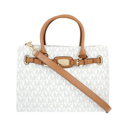 45ba233d0f7c Michael Kors - Michael Kors Hamilton Ladies Large PVC Satchel Handbag  35T7GHMT3B149 - Walmart.com