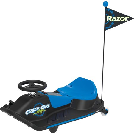 Razor 12 Volt Electric Powered Crazy Cart Shift Drifting Ride-On with Top-Speed Switch