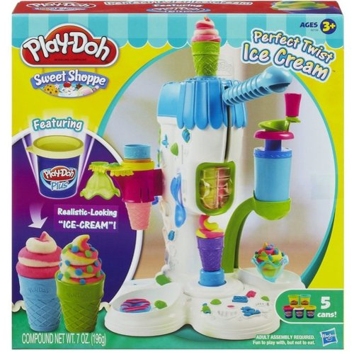 Play-Doh Perfect Twist Ice Cream Play Set