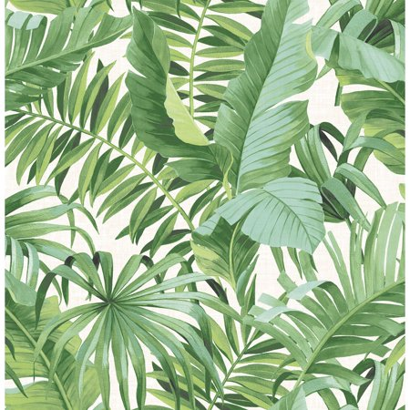 - A-Street Prints Alfresco Palm Leaf Wallpaper