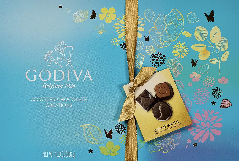 Godiva Goldmark Assorted Chocolate Creations 10 8oz Walmart Com Walmart Com