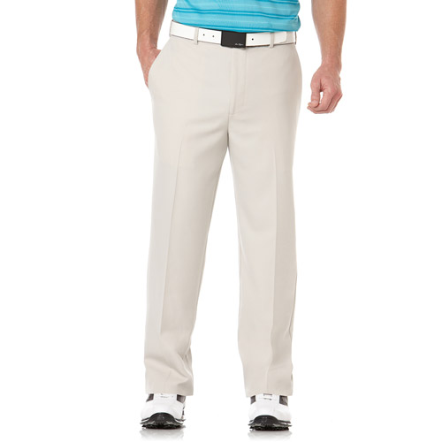 Ben Hogan Big Men's Performance Solid Golf Flat Front Pants