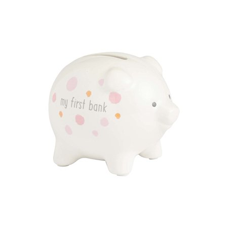 My First Piggy Bank Pink  Enesco Beginnings By Enesco Ship From Us