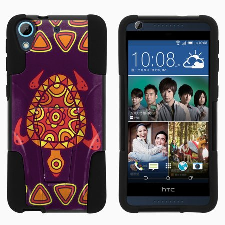Htc Wing Design Case (HTC Desire 626 STRIKE IMPACT Dual Layer Shock Absorbing Case with Built-In Kickstand - Turtle Design)