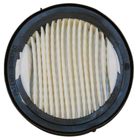 AIR SYSTEMS BAC-10F Filter, Round, Paper, PK 27