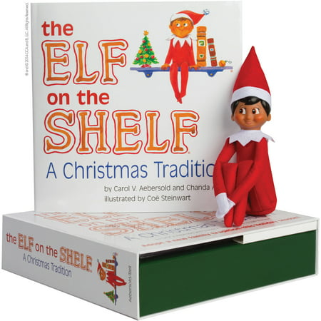 Elf on the Shelf Boy Dark -