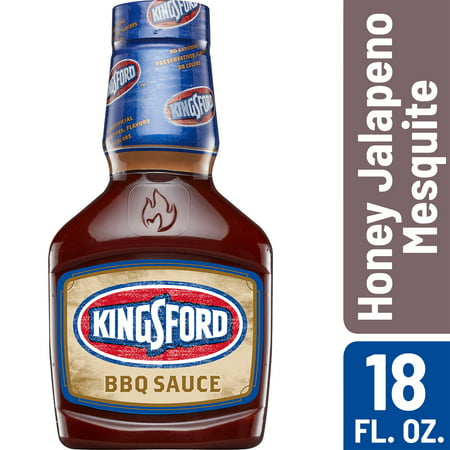 Mesquite Barbecue - (2 Pack) Kingsford BBQ Sauce, Honey Jalapeno Mesquite, 18 oz