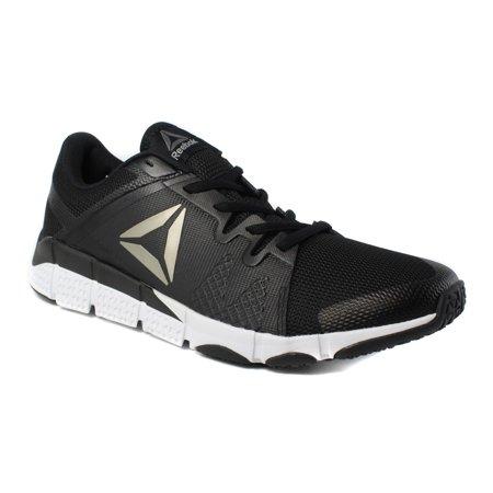 Reebok Mens Rbk Trainflex Black Running, Cross Training Shoes Size 8 New