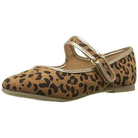 Report Girls Armoni Animal Print Leopard Print Mary Janes ()