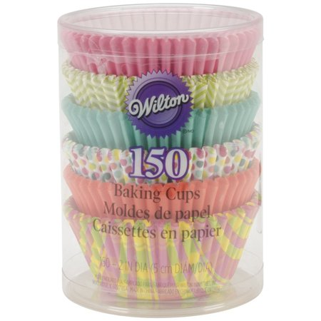 Assorted Spring Theme Baking Cups, 150-Pack, Makes creating and decorating easy By Wilton