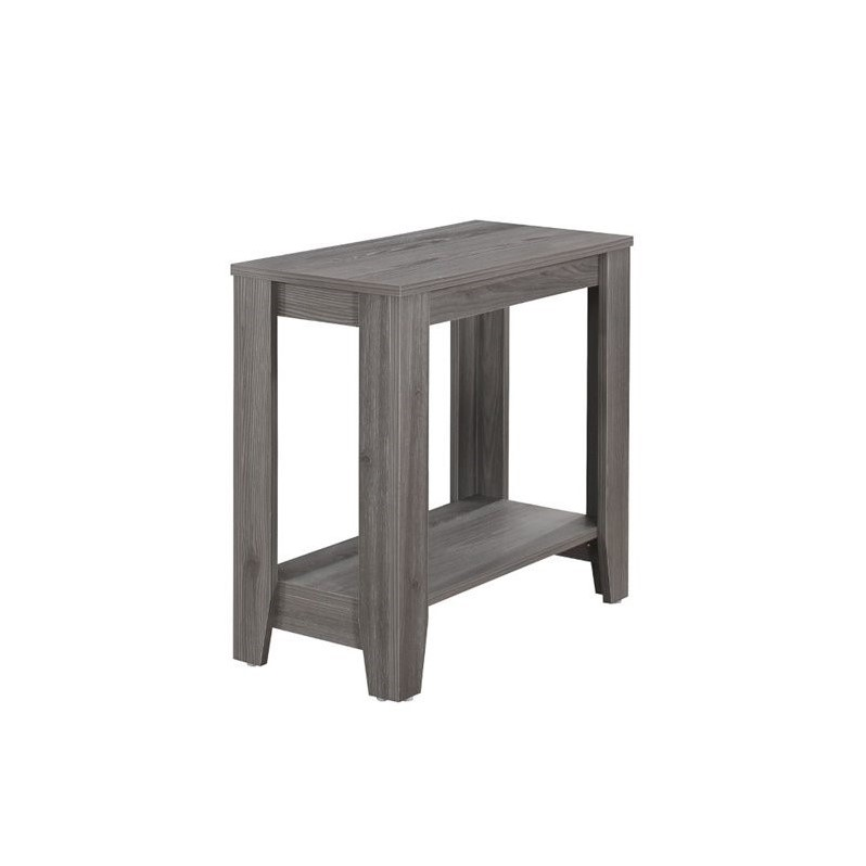 Gray Accent Table by Monarch Specialties Inc