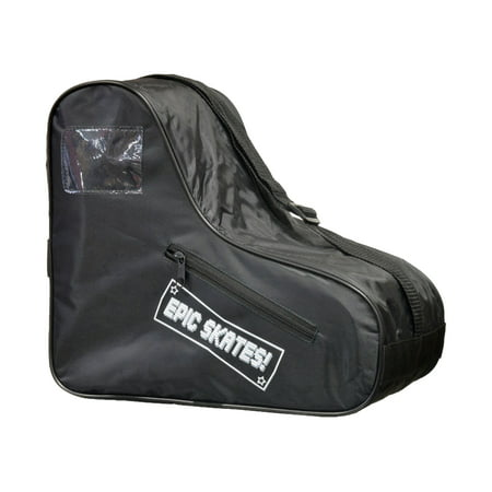 Epic Black Roller Skate Bag