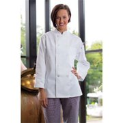 0475-2509 Napa Ladies Coat in White - 5XLarge