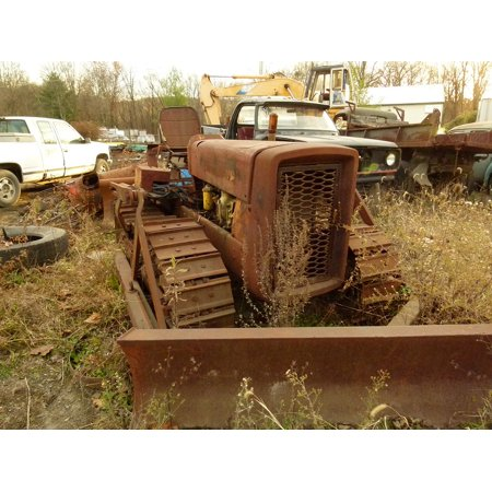 - Canvas Print Rust Old Truck Metal Recycling Tractor Scrap Stretched Canvas 10 x 14