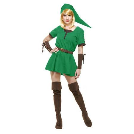 Elf Warrior Princess Adult Costume - Plus Size - Elf Warrior Princess Costume