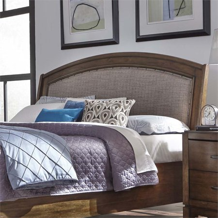 Liberty Furniture Avalon III Queen Upholstered Headboard in Brown