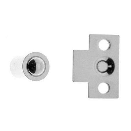 Solid Brass Mini Ball Catch, Polished Chrome - image 1 of 1