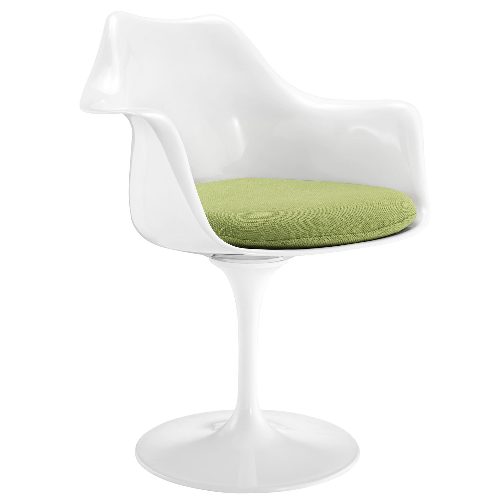 Modern Contemporary Kitchen Dining Armchair Green by America Luxury