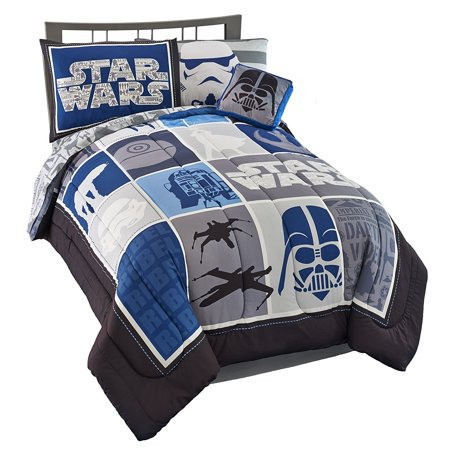 Star Wars Classic Lightsaber Twin Bed In A Bag Walmart Com
