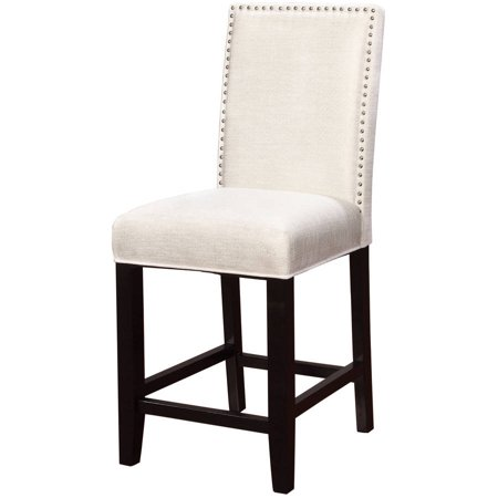 Linon stewart pearl fabric counter stool black frame 24 inch seat linon stewart pearl fabric counter stool black frame 24 inch seat height gumiabroncs Image collections