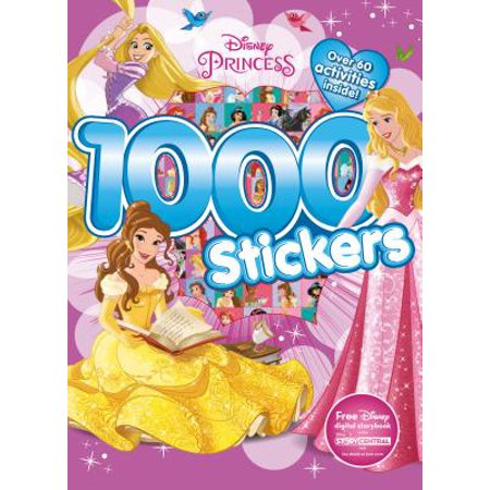 Disney Princess 1000 Stickers: Over 60 Activities - Myplate Activities