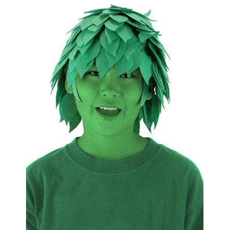 Huge Happy Green Guy Felt Wig