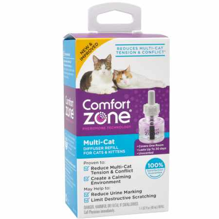 Farnam Pet-Comfort Zone Multi-cat Refill 48 Ml Refill