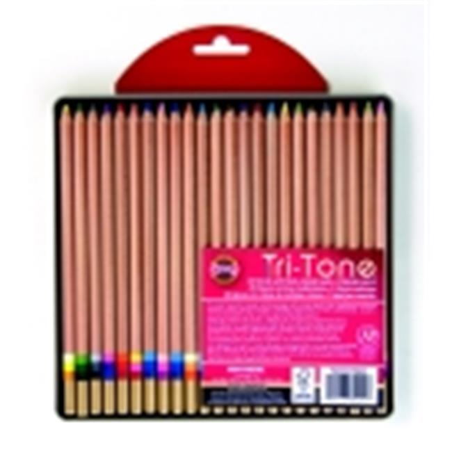 Koh-I-Noor Tri-Tone Pencil Set, Set 24