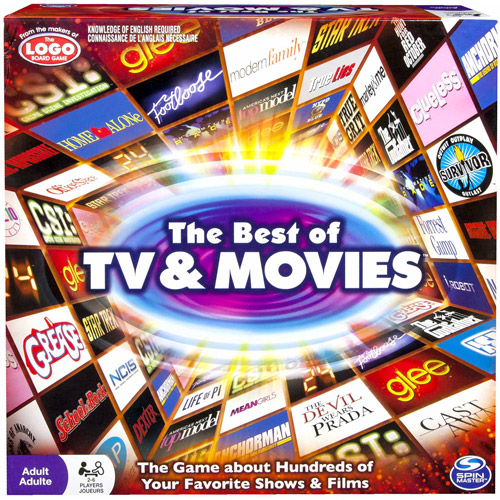 Spin Master Games Best of Movies and TV Board Game