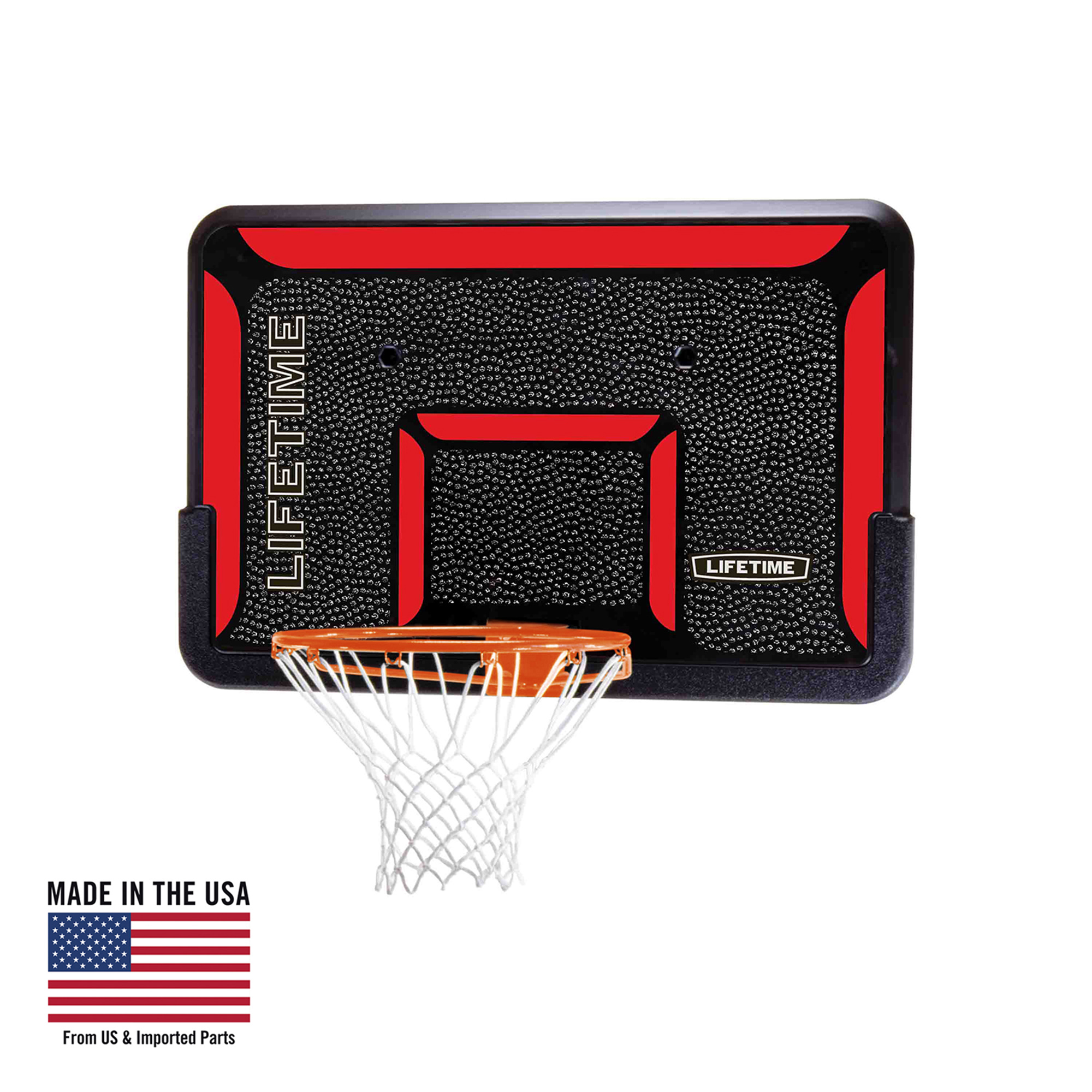 "Lifetime 44"" Impact Backboard and Rim Basketball Combo, 3823"