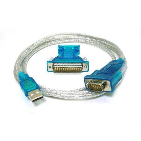 Db25 To Db9 (Monoprice USB to RS232 DB9 Male and DB25 Male Serial Converter Cable )