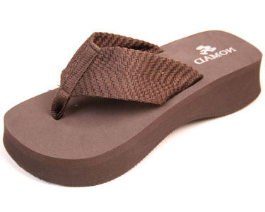 Nomad Pancho Sandal Brown by Nomad