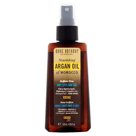 Marc Anthony Keratin Nourishing Argan Oil of Morocco Dry Styling Oil, 4.05 fl oz