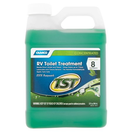 Camco Concentrated Rv Toilet Treatment  32 Fl Oz