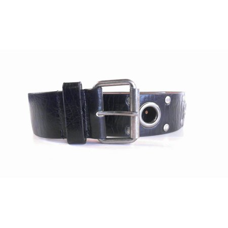 Designer Gromet Stud Distressed Unisex Womens size XL Casual Buckle Belt Black Classic Solid Fashion Accessories Sale