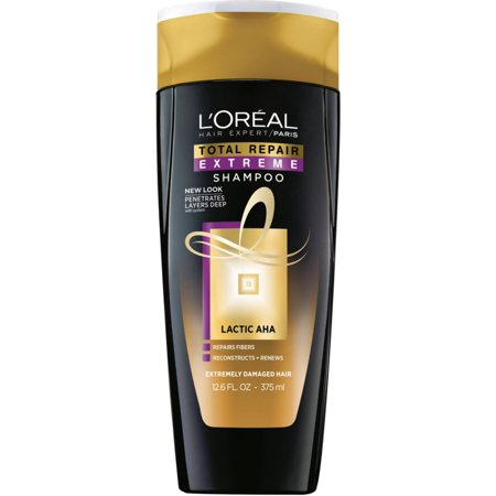 - 2 Pack - L'Oreal Total Repair Extreme Shampoo, Extremely Damaged Hair 12.6 oz